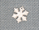 MH12035 - Small Snowflake Crystal Bright