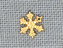 MH12036 - Small Snowflake Gold