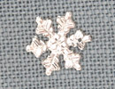 MH12037 - Medium Snowflake Crystal Bright