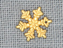 MH12038 - Medium Snowflake Gold