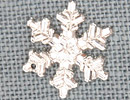 MH12039 - Large Snowflake Crystal Bright