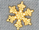 MH12040 - Large Snowflake Gold