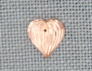 MH12067 - Medium Fluted Heart Rosaline