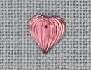 MH12068 - Medium Fluted Heart Amethyst
