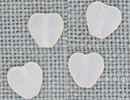 MH12090 - Med Channeled Heart Matte Opal