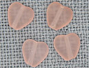 MH12092 - Med Channeled Heart Matte Rosaline