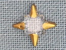 MH12108 - Crystal Star Gold Tipped