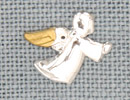 MH12109 - Crystal Flying Angel Gold Tipped