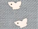 MH12127 - Butterfly Profile Matte Crystal