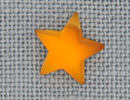 MH12130 - Larged Domed Star Matte Light Topaz