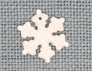 MH12162 - Medium Snowflake Matte Crystal AB