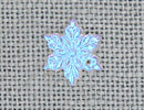 MH12163 - Small Star Snowflake Glacier Blue