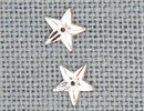 MH12165 - Small 5 Pointed Star Crystal Bright