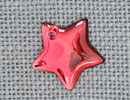 MH12175 - Large Flat Star Red Bright