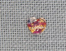 MH12181 - Heart Red Opal