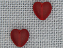MH12217 - Large Channeled Hearts Ruby