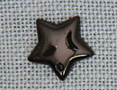 MH12222 - Large Flat Star Black