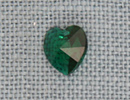 MH13039 - Small Heart Emerald